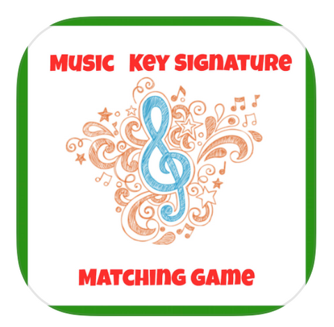 Music Key Signature Matching Game