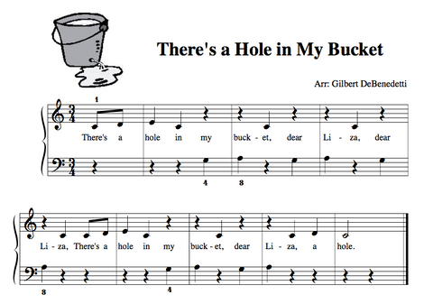 Theres a hole in my bucket
