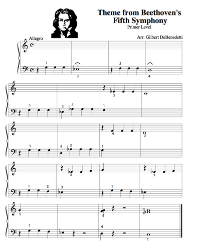 Beethovens Fifth Sheet Music