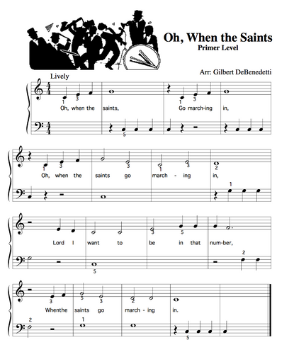 Oh When The Saints Sheet Music