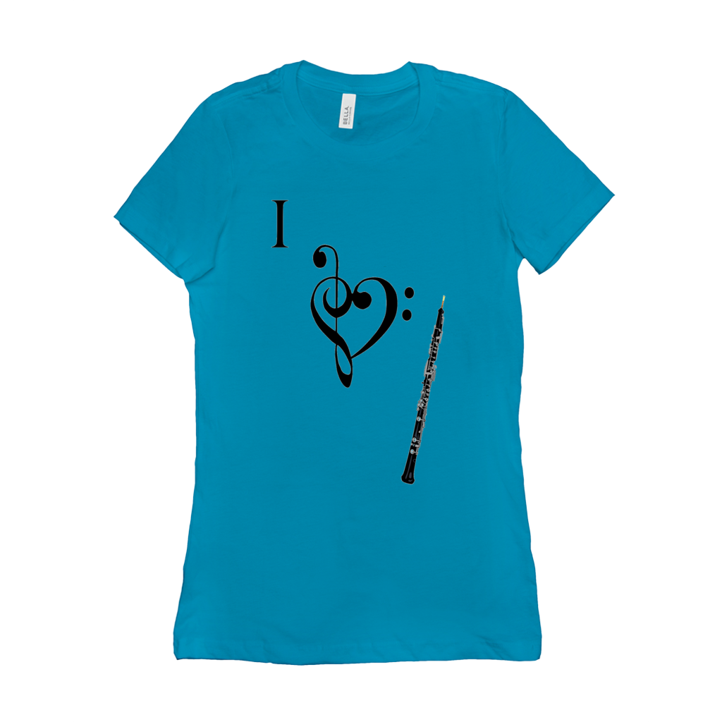 Oboe Shirts  - I Love Oboe - Women's