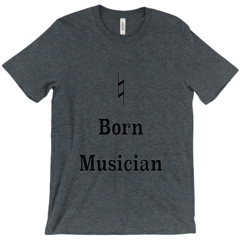 Music Themed T Shirts - Natural Born Musician - Unisex