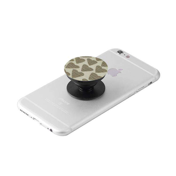 Black Collapsible Grip & Stand for Phones and Tablets - Music For Little Learners