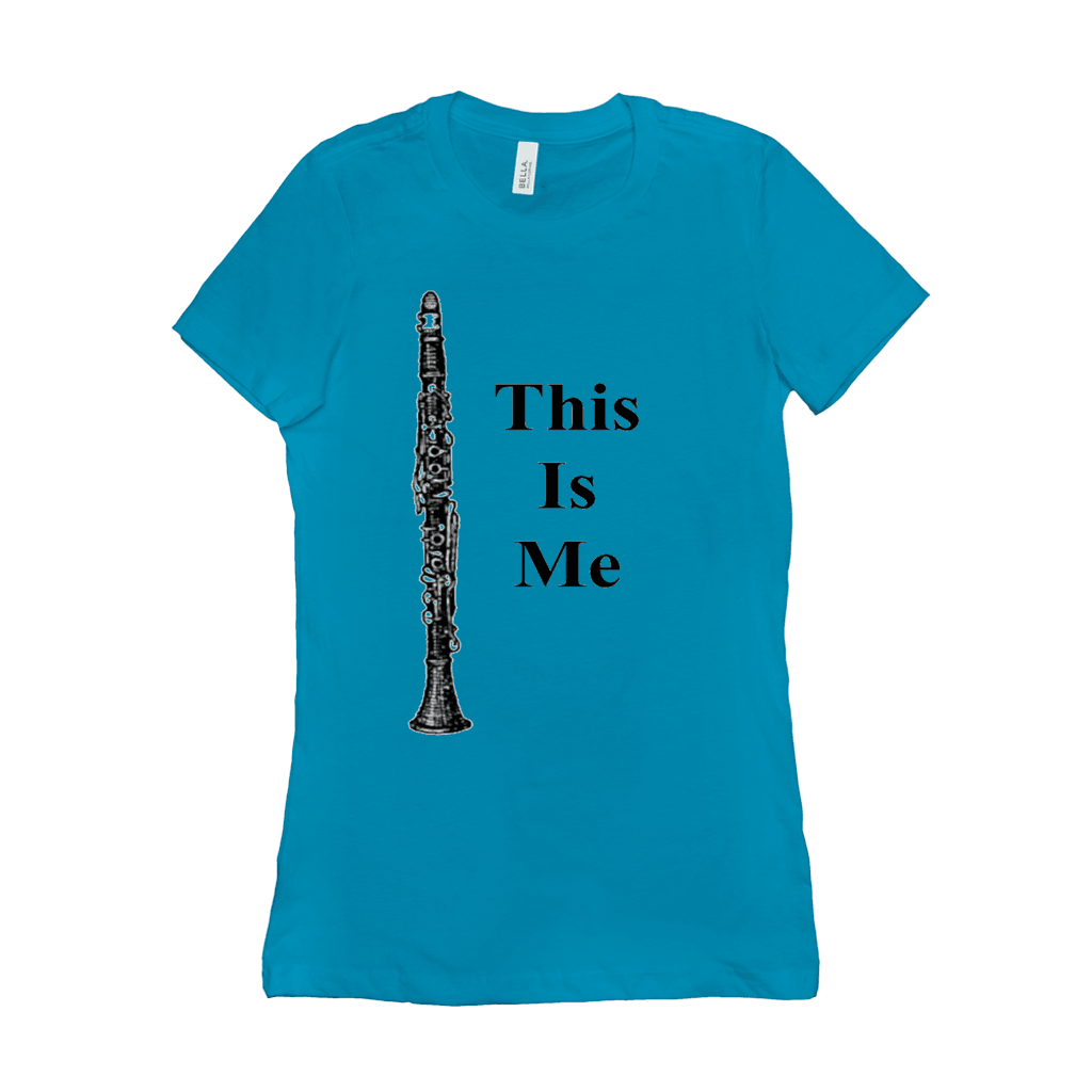 clarinet T-Shirt - This Is Me - Women's - Music For Little Learners