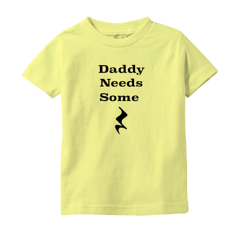 Music Baby Clothes - Daddy Needs Some Rest - T-Shirts (Infant Sizes) - Music For Little Learners
