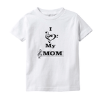 Music Baby Clothes - I Love My Mom - T-Shirts (Infant Sizes)