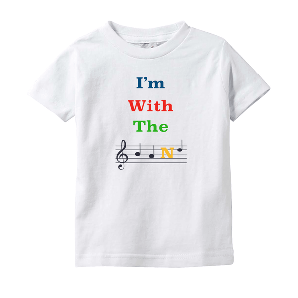 Music Baby Clothes - I'm With The Band - T-Shirts (Infant Sizes)