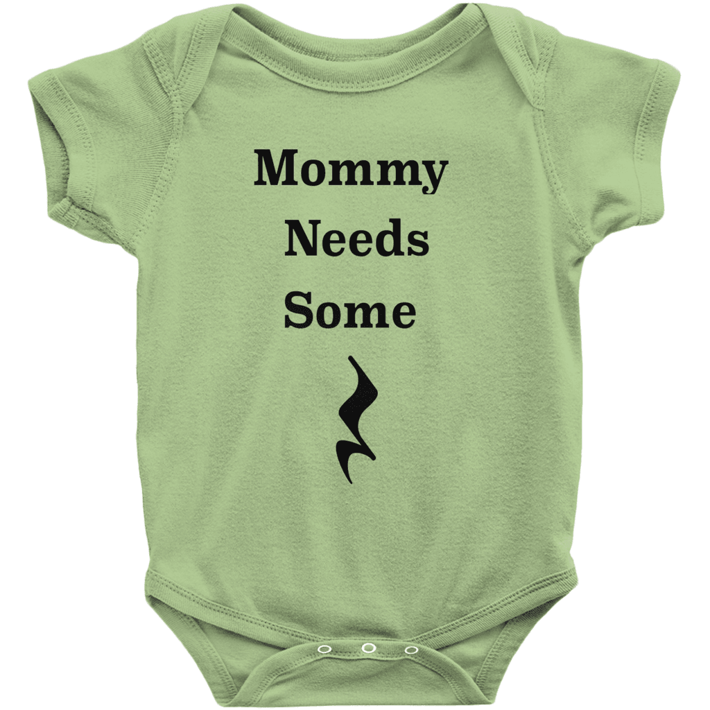 Music Baby Clothes - Mommy Needs Some Rest - Music For Little Learners