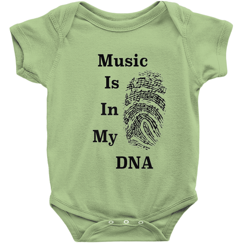 Music Baby Clothes - Music Is In My DNA - Music For Little Learners