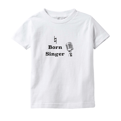 Music Baby Clothes - Natural Born Singer - T-Shirts (Infant Sizes) - Music For Little Learners