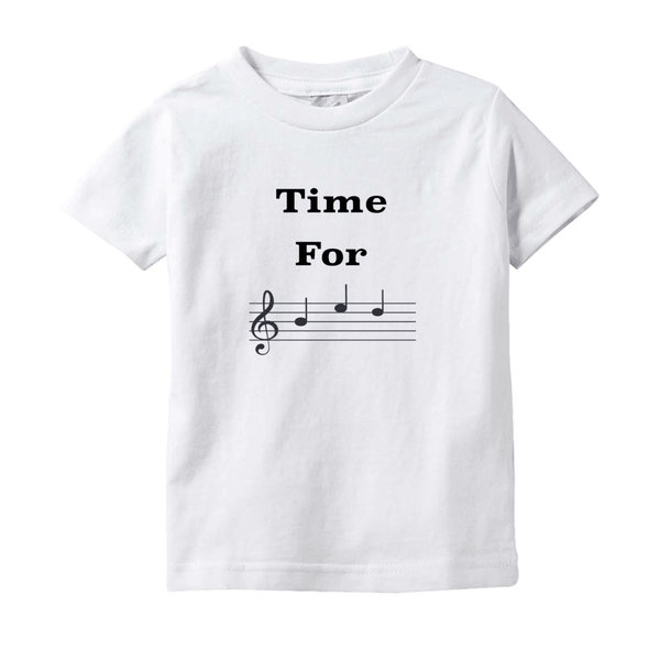 Music Baby Clothes - Time For Bed - T-Shirts (Infant Sizes)