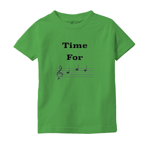 Music Baby Clothes - Time For Bed - T-Shirts (Infant Sizes) - Music For Little Learners