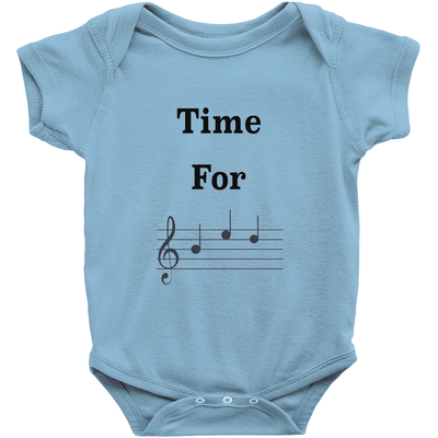 Music Baby Clothes - Time For Bed - Music For Little Learners