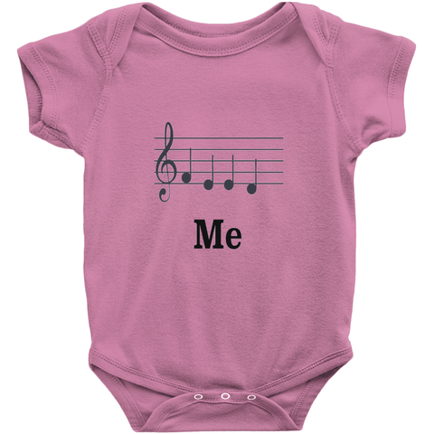 Music Baby Clothes -Feed Me - Music For Little Learners