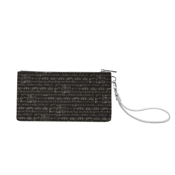 Music Clutch Purse - Genuine Leather