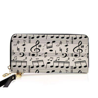 Music Clutch Purse