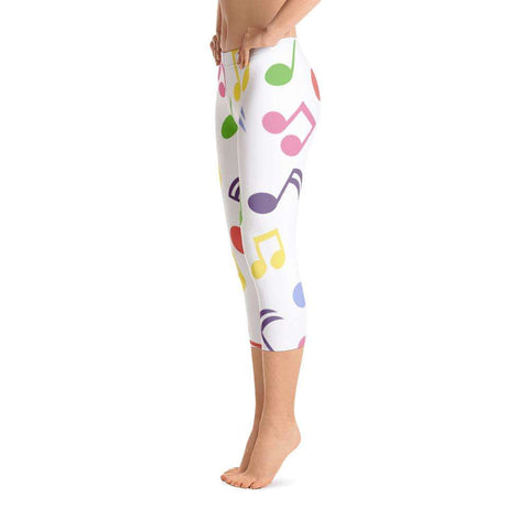 Music Leggings , Capri Leggings - Music For Little Learners