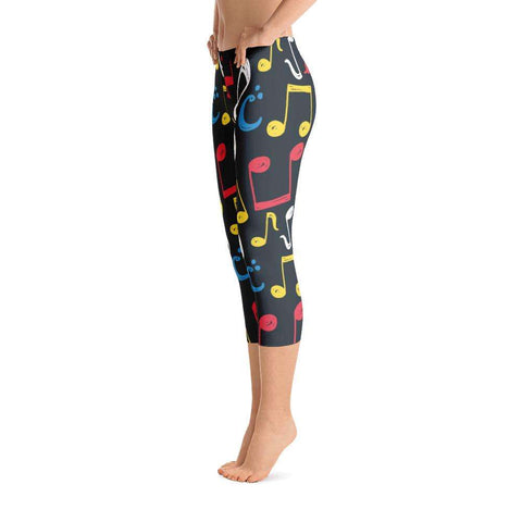Music Leggings, Capri Leggings - Music For Little Learners