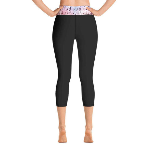Music Leggings, yoga capris leggings - Music For Little Learners
