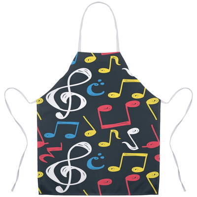 Music Note Apron - Music For Little Learners