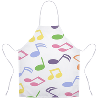 Music Note Apron
