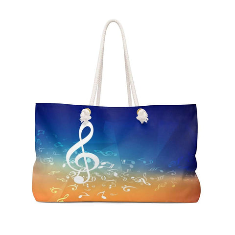 Music Note Bag - Weekender Bag - Music For Little Learners