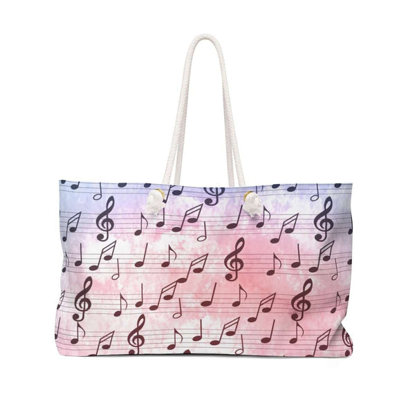 Music Note Bag - Weekender Tote