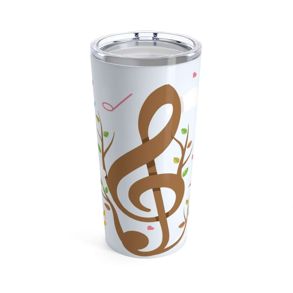 Music Note Coffee Mug - Tumbler 20oz - Music For Little Learners