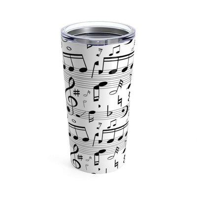 Music Note Coffee Mug Tumbler 20oz