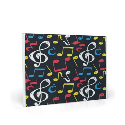 Music Note Glass Cutting Board