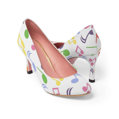 Music Note High Heels