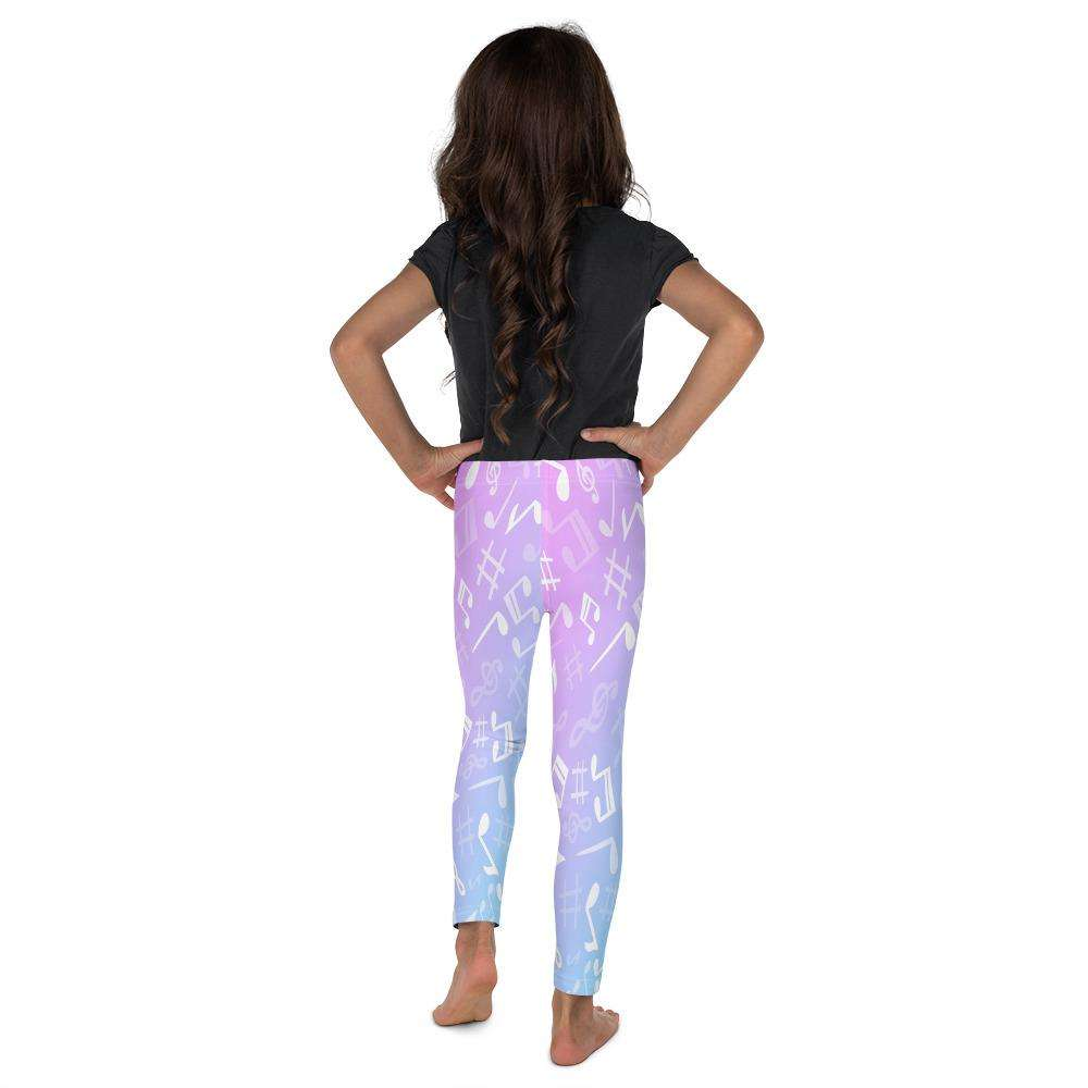 Music Note Leggings - Kid's Leggings