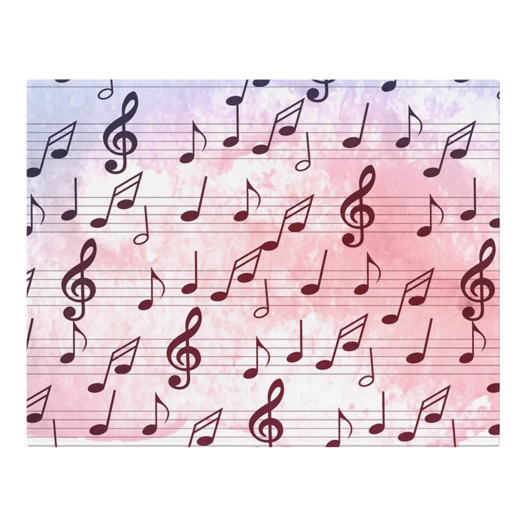 Music Note Placemat
