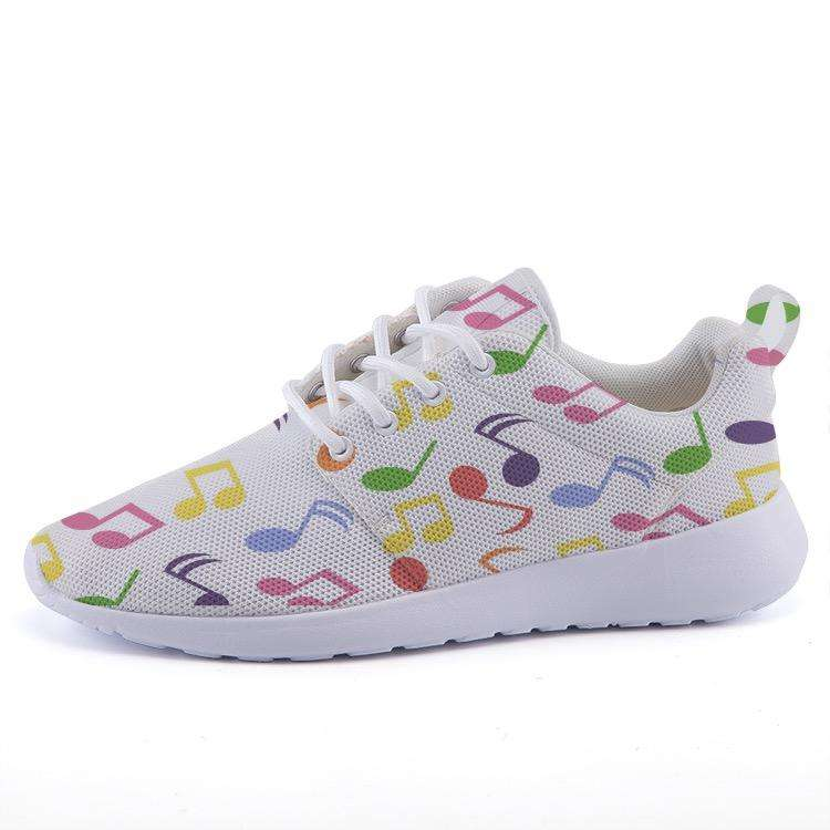 Music Note Shoes -Lightweight sneakers casual sports shoes