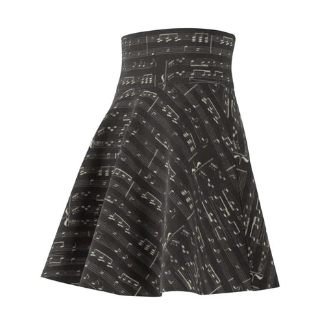 Music Note Skirt - Skater Skirt