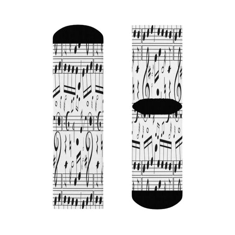 Music Note Socks