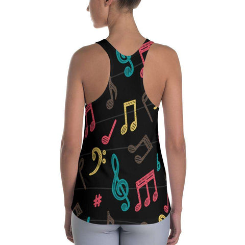 Music Note Tank Top