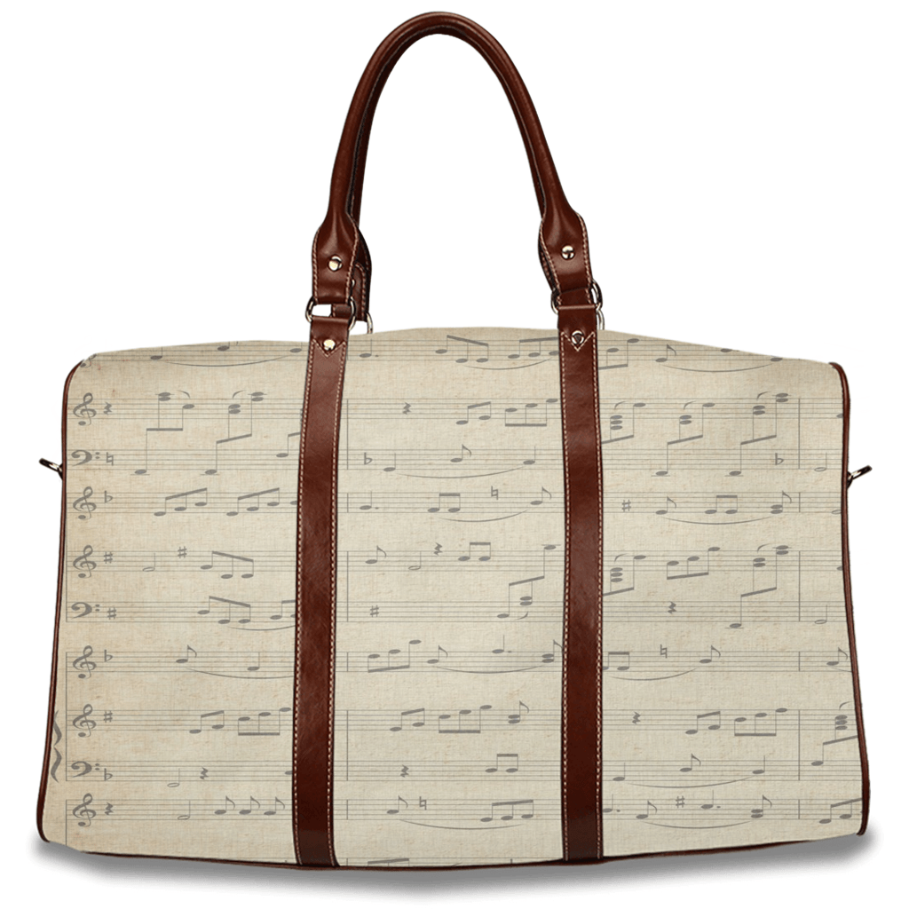 Music Note Travel Bag