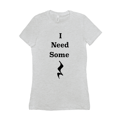 Music Themed T Shirts - I Need Some Rest - Women's