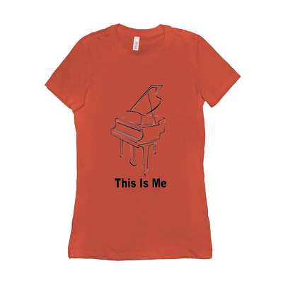 Piano Shirt - This Is Me - Women's