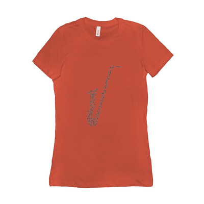 Saxophone T Shirt _ Women's