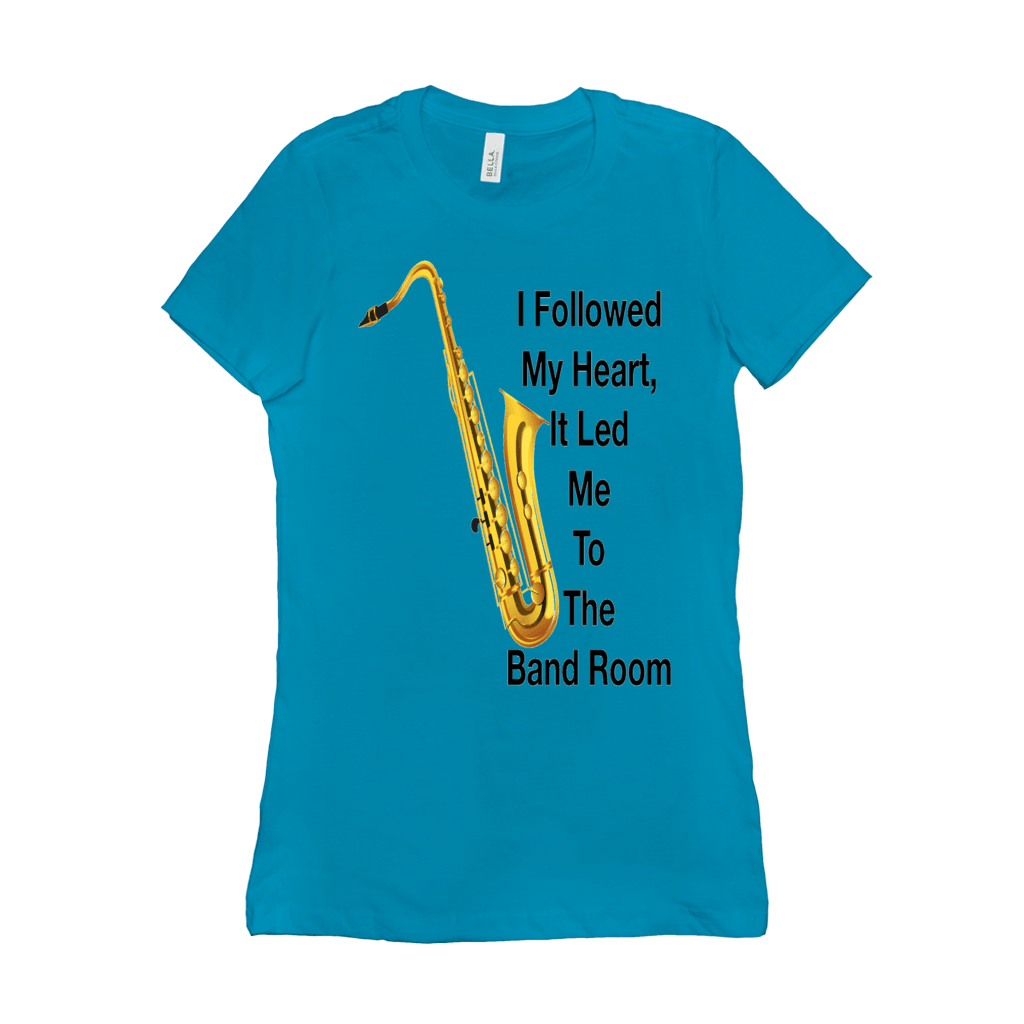 Saxophone T Shirt - Women's