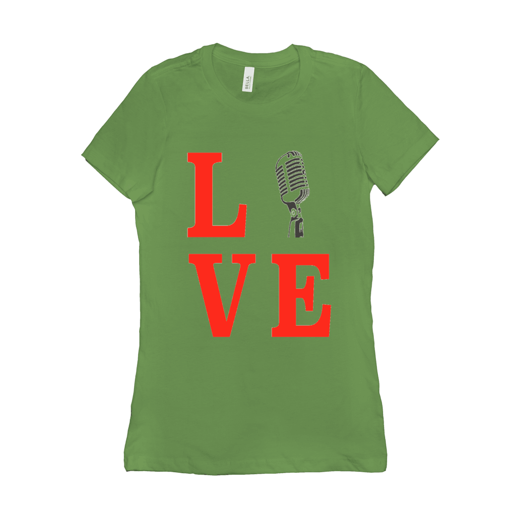 Singer T Shirt - Love Singing - Women's