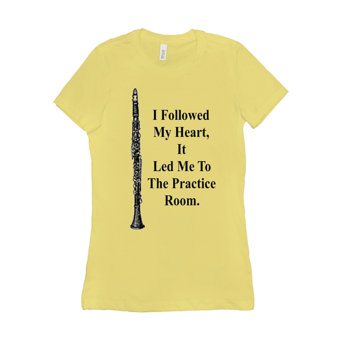 Clarinet Shirts - Women - Music For Little Learners