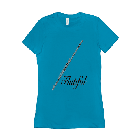 Flute Shirts  - Flutiful - Women's - Music For Little Learners