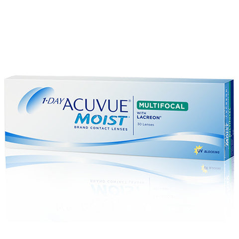 1-Day Acuvue Moist for Multifocal 30 Pack