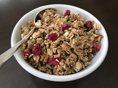 Cranberry Apple Granola Snack |Granola Pommes Canneberges Snack