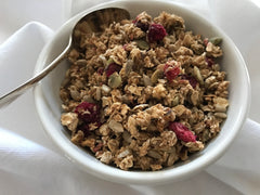 Cranberry Apple Granola|Granola Pommes Canneberges