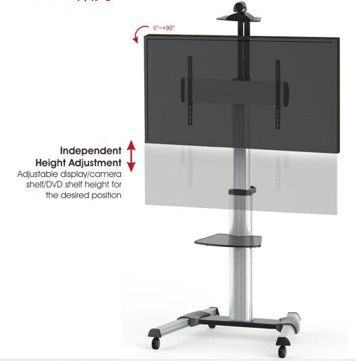 Mobile Display Stand with 90 Degree Display Rotation L01