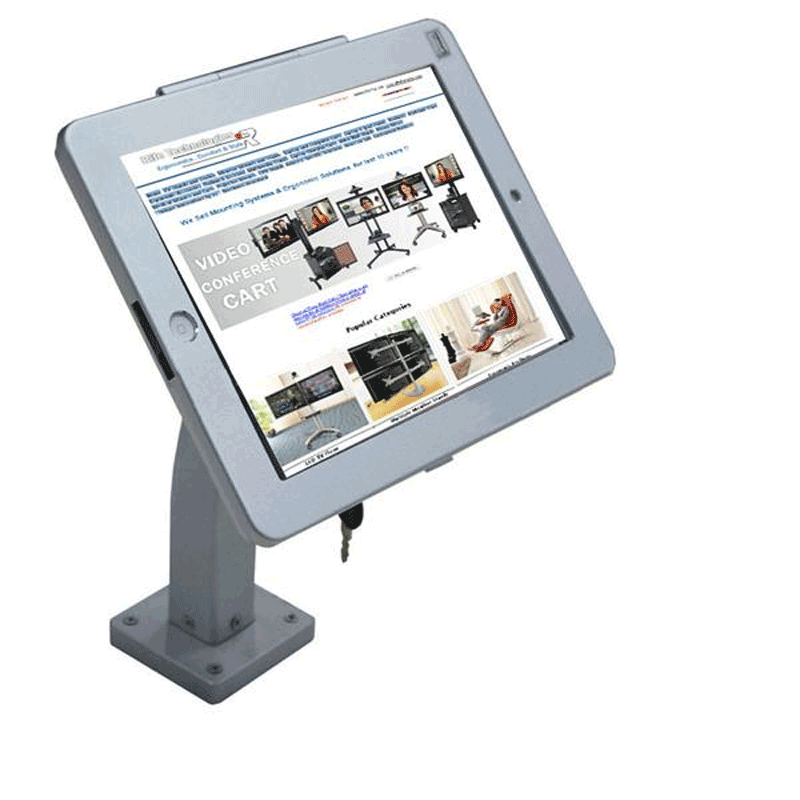 Wall /Desk Mount for Ipad & Tablet 9.7, 10.2/10.5 and 12.9 (IP10)
